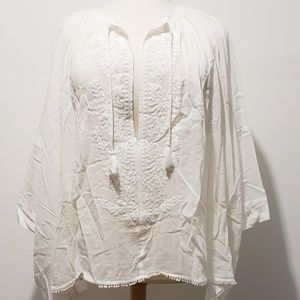 Victoria's Secret Embroidered Cover Up XL